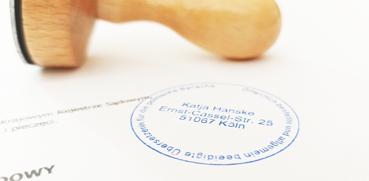 Urkundenübersetzung mit Beeidigung